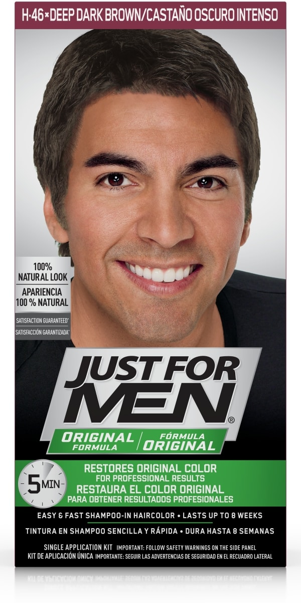 Just For Men Original Formula Easy And Fast Shampoo In Mens Hair