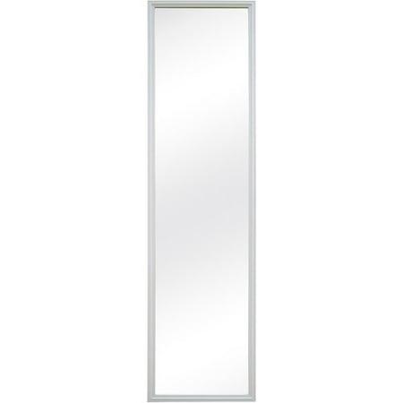 mainstays 12x48 door mirror white
