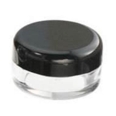 158982d16d13 Amazing Plaza 100 pcs New Empty Cosmetic Storage Containers Black Cap Clear  Base Plastic Cosmetic Containers 5 Gram Size Pot Jar