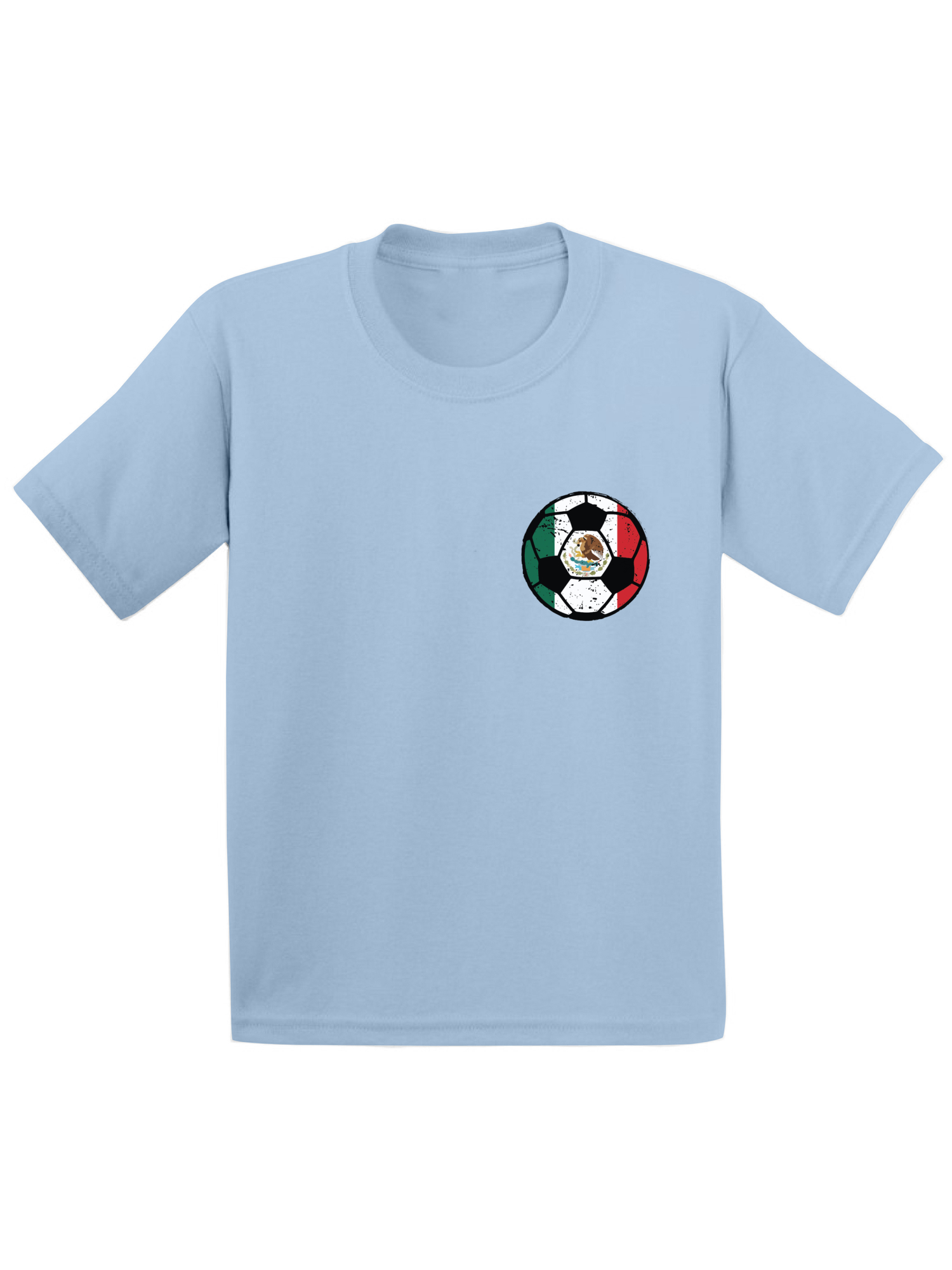 Straight Outta Mexico Mexican Flag Youth Kids T-Shirt Gift Idea