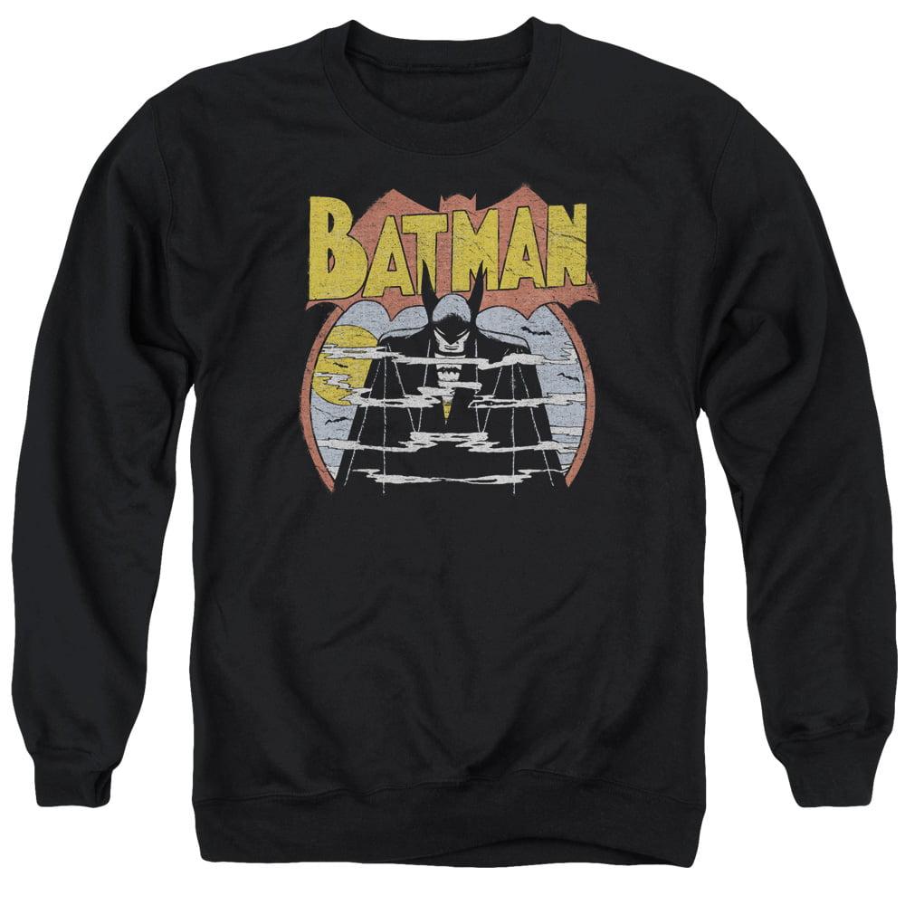 DC Comics Batman Foggy Adult Crewneck Sweatshirt by