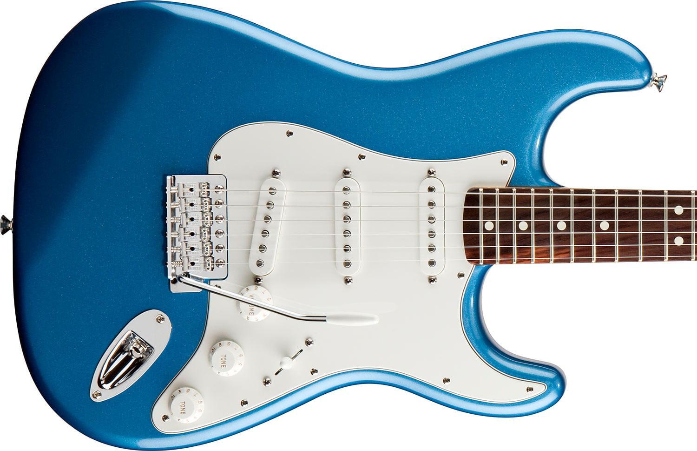 Fender Standard Stratocaster in Lake Placid Blue - Walmart.com