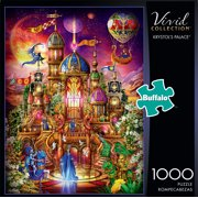 Buffalo Games Vivid Collection Krystol's Palace 1000 Pieces Jigsaw Puzzle