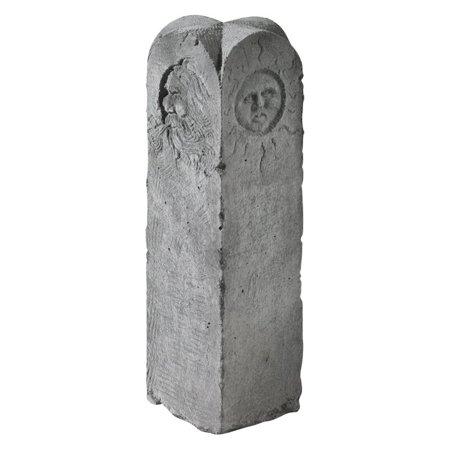 Four Seasons Garden Stone Obelisk