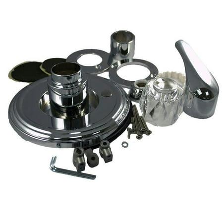 Partsmaster Pro Universal Trim Kit For Delta Chrome 58224