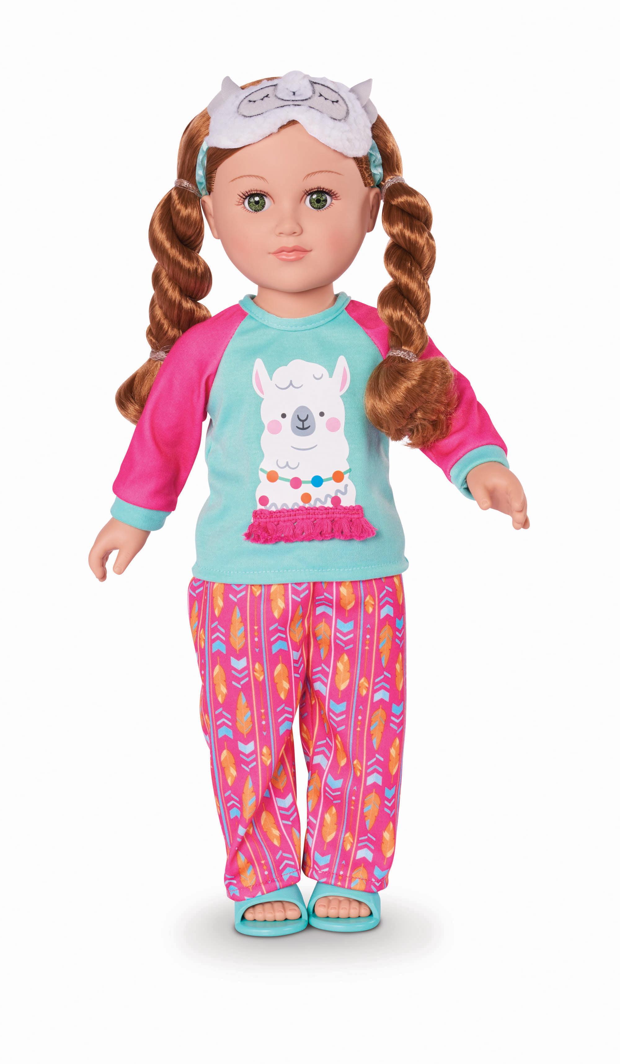 "My Life As 18"" Poseable Sleepover Host Doll, Red Hair"