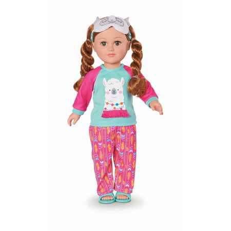 "My Life As 18"" Poseable Sleepover Host Doll, Red Hair"