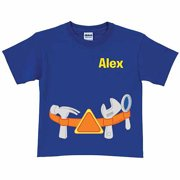 Personalized Super Why! Alpha Tool Belt Boys' T-Shirt, Royal Blue
