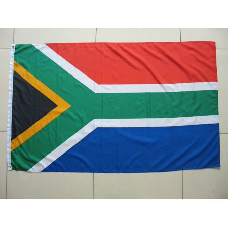 SOUTH AFRICAN SOUTH AFRICA FLAG RUGBY WORLD CUP CRICKET FOOTBALL LARGE 5FT X 3FT ()