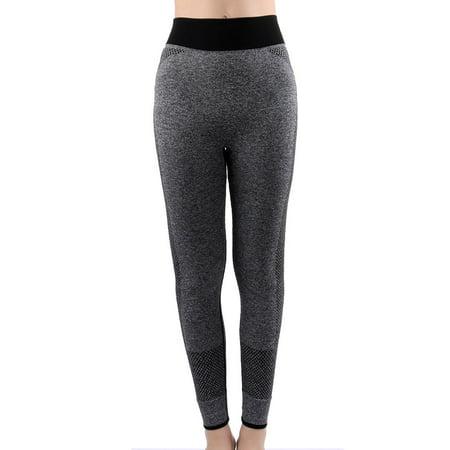 Women Exercise Running Sports Stretchy Yoga Troers Legging Pant
