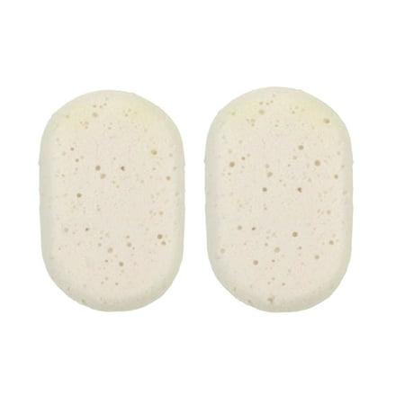 Daylee Naturals Oval Bath Sponge 2 Pack (Natural Bath Sponge)