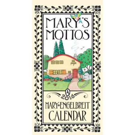 Mary Engelbreit 2016 Calendar: Mary's Mottos