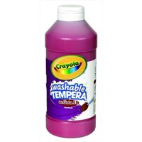 Crayola Artista Ii Non-Toxic Washable Tempera Paint, Red