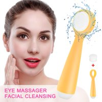 Facial Cleansing Eye Massager Exfoliating Silicone Facial Electric Face Brush, Exfoliating Face Brush, Electric Cleansing Brush