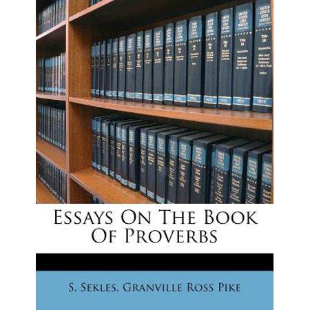 Essays on proverbs