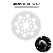 48DP 80T RC Gear for 1/10 S CS R31 SCX10 RC Drift Racing Car Off-road Climber Short Truck