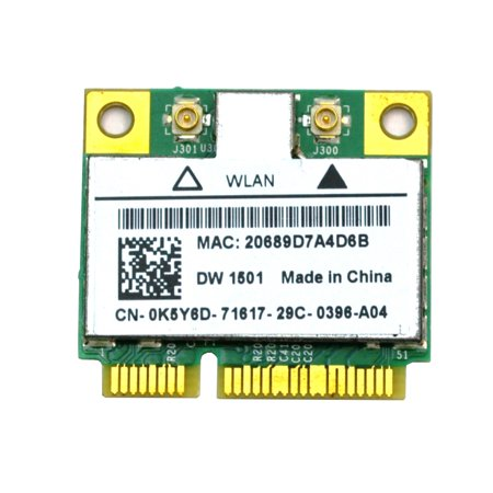 K5Y6D BCM94313HMG2L Dell K5Y6D Half Mini PCIe WLAN WiFi Card Laptop Wireless Cards - Wifi - Used Like (Best Cheap Wifi Pci Card)