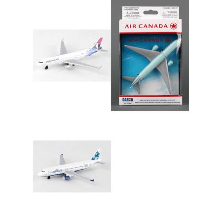 Hawaiian  Air Canada  Jetblue Airlines Diecast Airplane Package   Three 5 5  Diecast Model Planes
