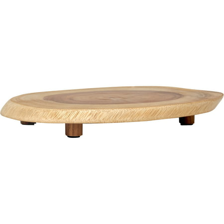 Lipper International Acacia Oblong Footed (Footed Server)