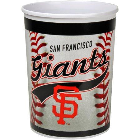 San Francisco Giants Plastic Baseball Wastebasket - No Size