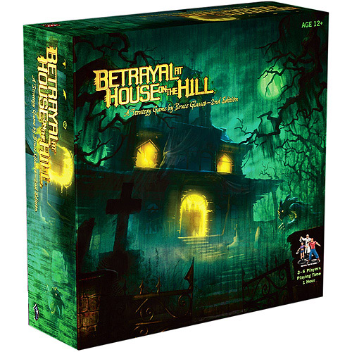 Betrayal At House on The Hill Haunted Mansion Family Board Game 2nd Ed Avalon 266330000WOC