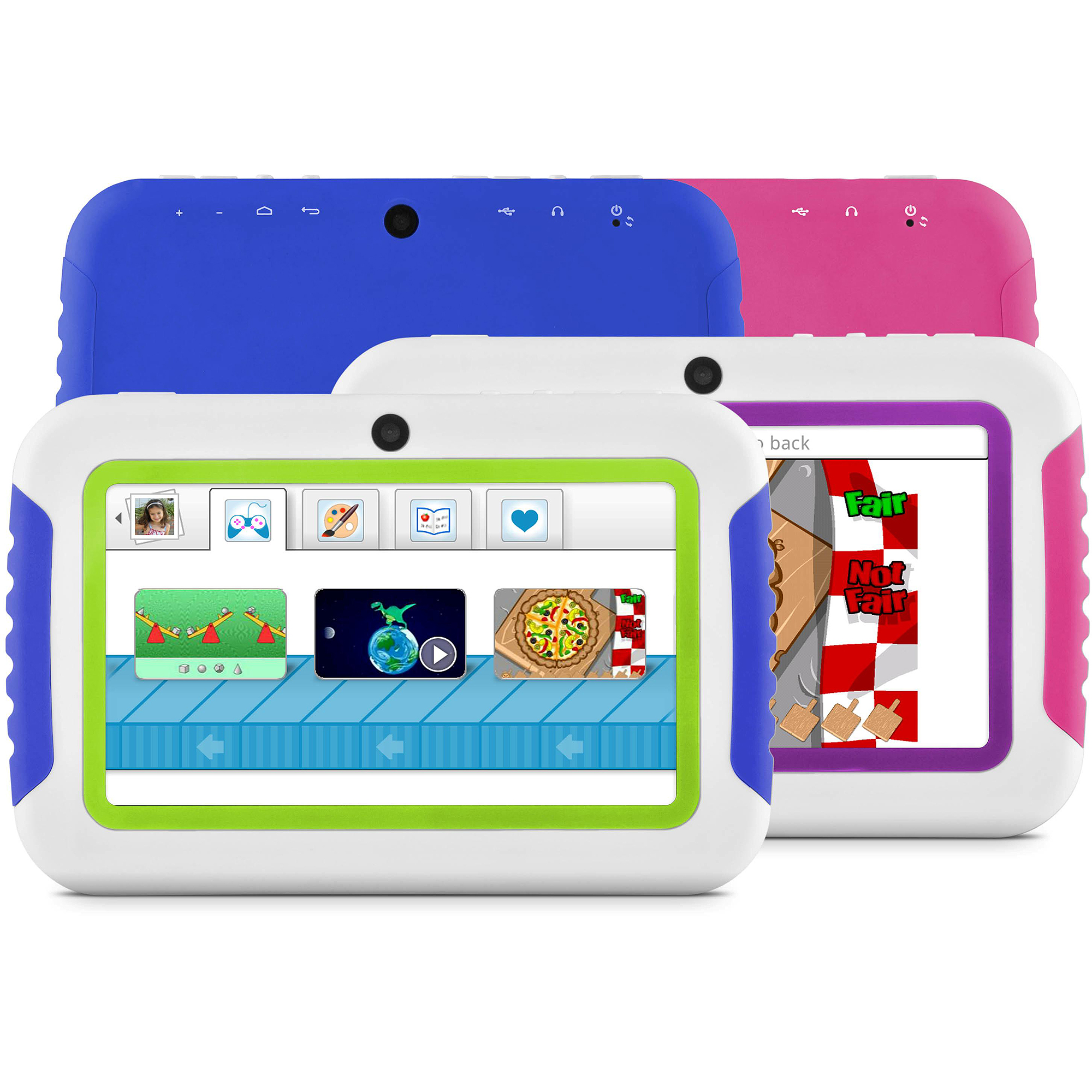 "Ematic FunTab Mini with WiFi 4.3"" Touchscreen Tablet PC Featuring Android 4.0 (Ice Cream Sandwich) Operating System"