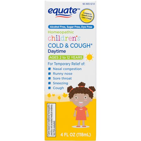 Equate Children S Homeopathic Daytime Cold Cough Liquid