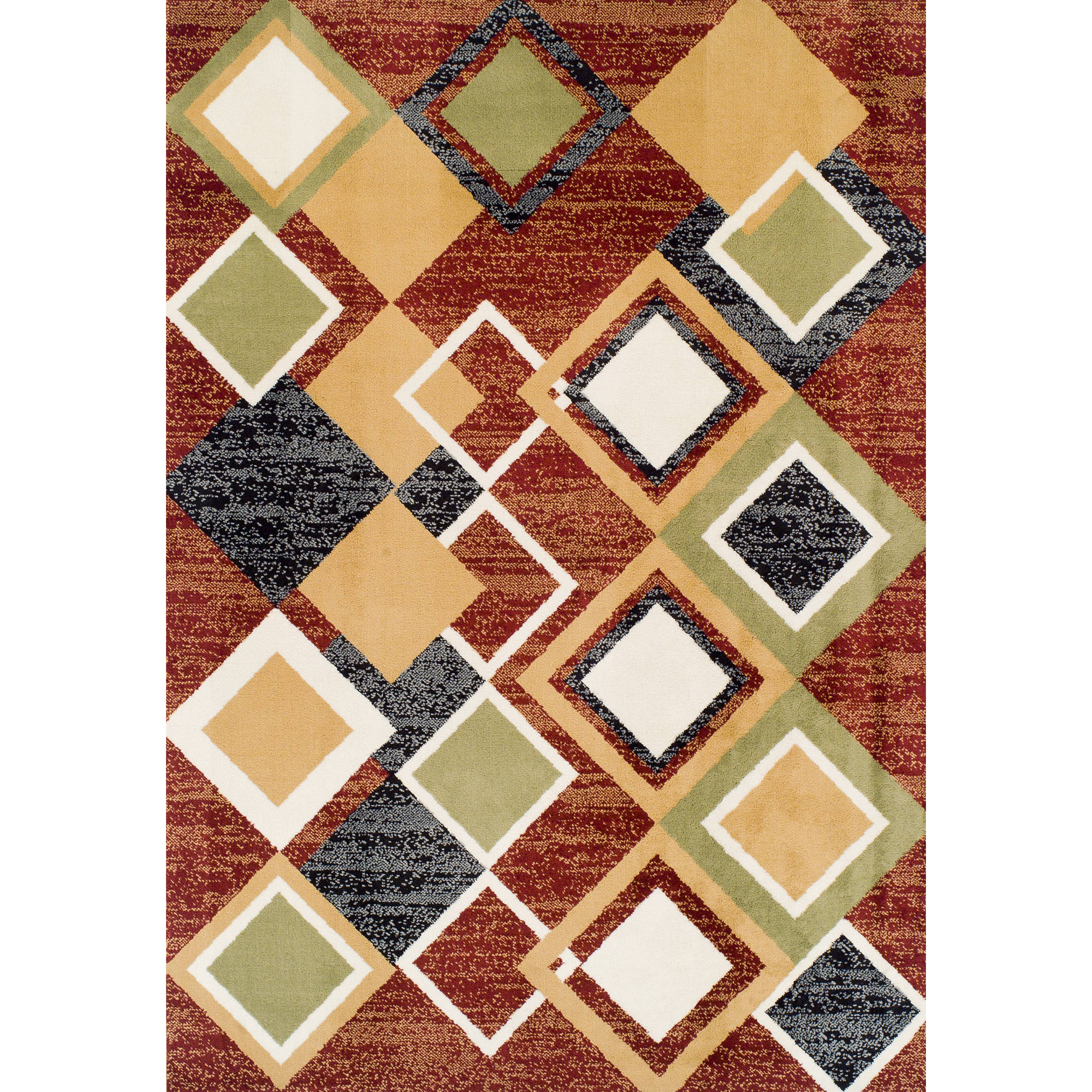 Ferrera Collection Area Rug, Argyle