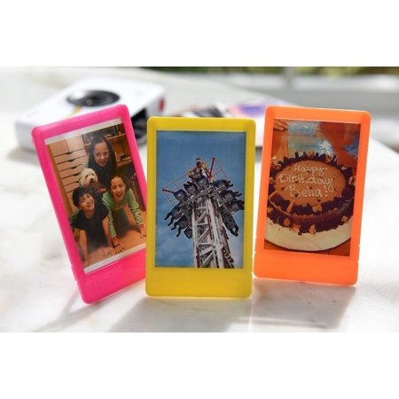 Polaroid 10 Colorful 2x3 Mini Photo Picture Frames For 2x3 Photo Paper (Snap, Zip, Z2300) - Polaroid Frame Prop