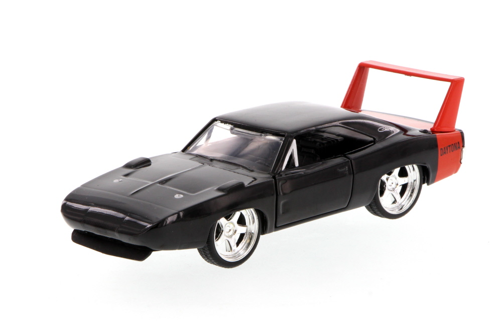 1969 Dodge Charger Daytona, Black Jada Toys 96929 1 32 scale Diecast Model Toy Car (Brand... by Jada