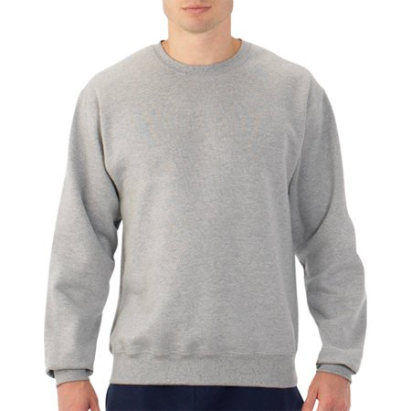 fruit of the loom men 39 s dual defense crew sweatshirt. Black Bedroom Furniture Sets. Home Design Ideas
