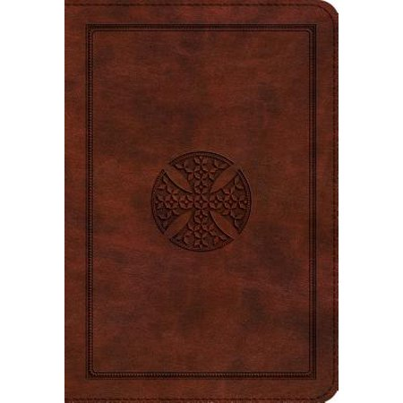 Mosaic Cross (ESV Large Print Compact Bible (Trutone, Brown, Mosaic Cross)