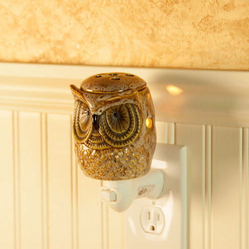 ScentSationals Spotted Owl Wall Accent Scented Wax Warmer