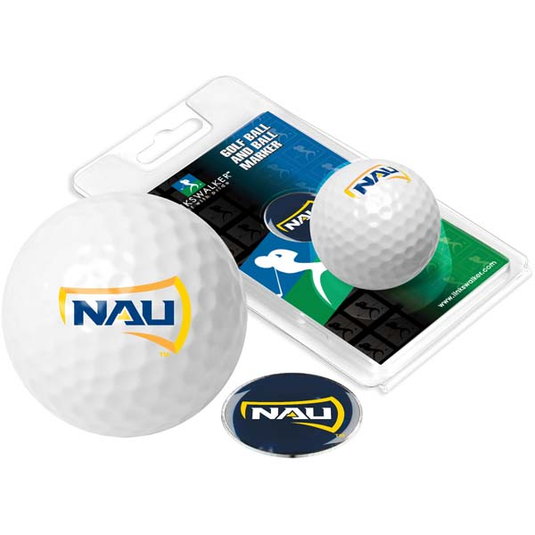 Northern Arizona Golf Ball One Pack with Marker