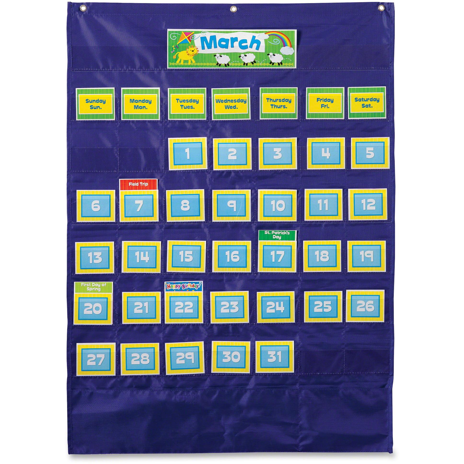 Carson-Dellosa Ages 4-11 Deluxe Calendar Pocket Chart by Carson-Dellosa Publishing Co., Inc