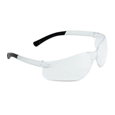 6 Pack - Crews BearKat Safety Glasses with Clear Anti-Fog Lens
