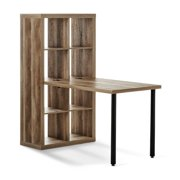 Better Homes and Gardens Cube Storage Organizer and Adjustable Height Desk, Multiple Colors