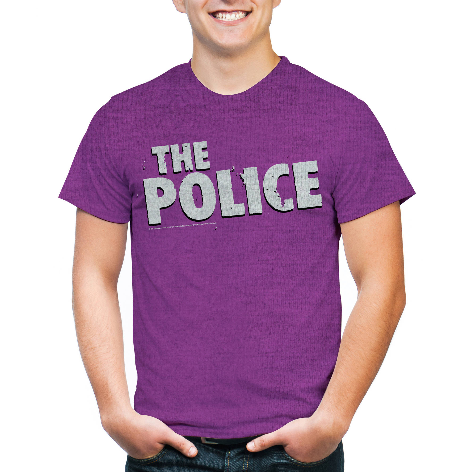 Perryscope The Police Men's Short Sleeve Graphic Tee