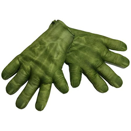 Hulk Gloves Child Halloween Accessory