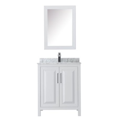 Wyndham Collection Daria 30 Single Bathroom Vanity Set with Medicine Cabinet