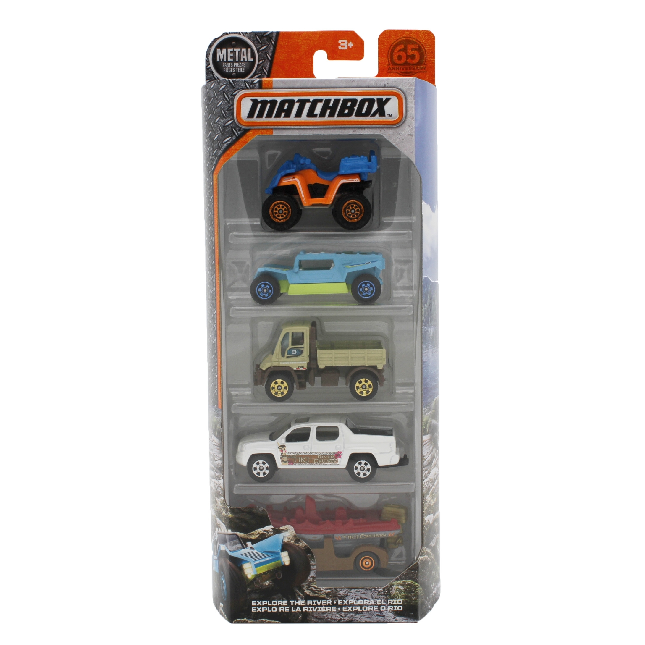 Matchbox Explore The River 5-Pack by Mattel