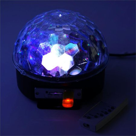 BalsaCircle 6 Colors Remote Control LED Magic Lighting Ball with USB - Wedding Party Decorations Supplies](Magic Show Decorations)
