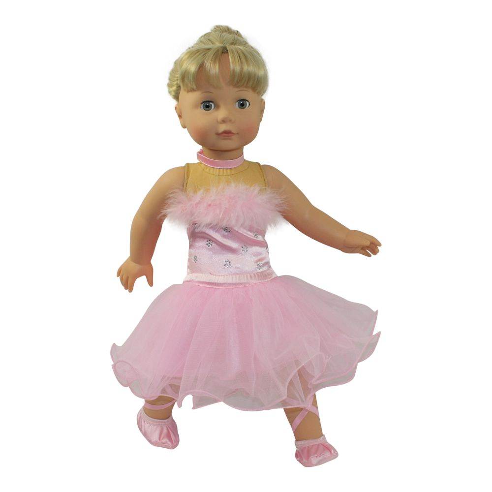 Dream Big Wholesale Doll Clothes Arianna Prima Ballerina Costume Fits