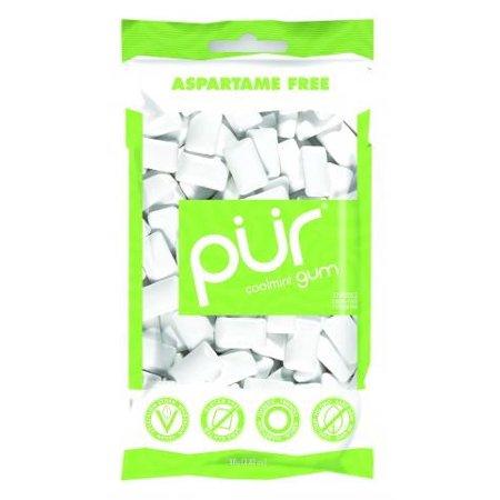 PUR Gum, Aspartame Free Coolmint Gum, 55pcs ()