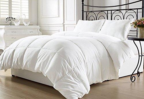 Duvet Insert Quilted Soft Comforter Blanket Hypoallergenic Warm Plush Fiberfill