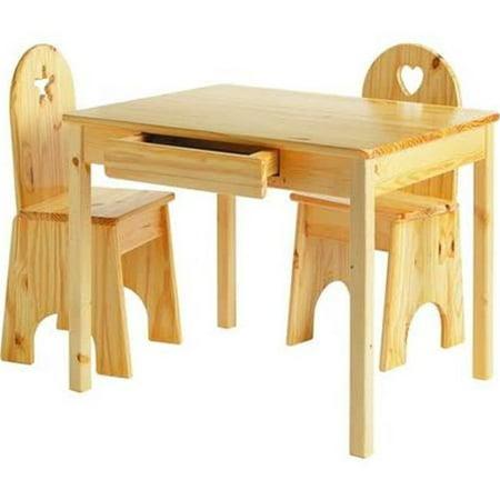 Little Colorado 044ESP 23 x 28 x 24 in. Kids Table - Espresso](Express Kids)