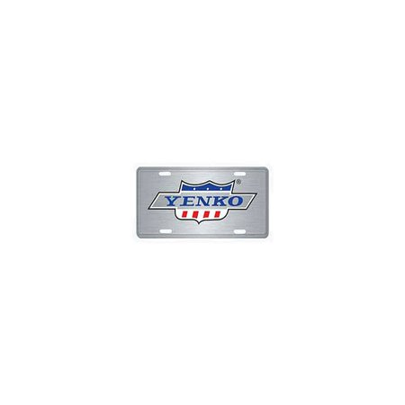 Eckler's Premier  Products 50342547 Chevelle Yenko License Plate