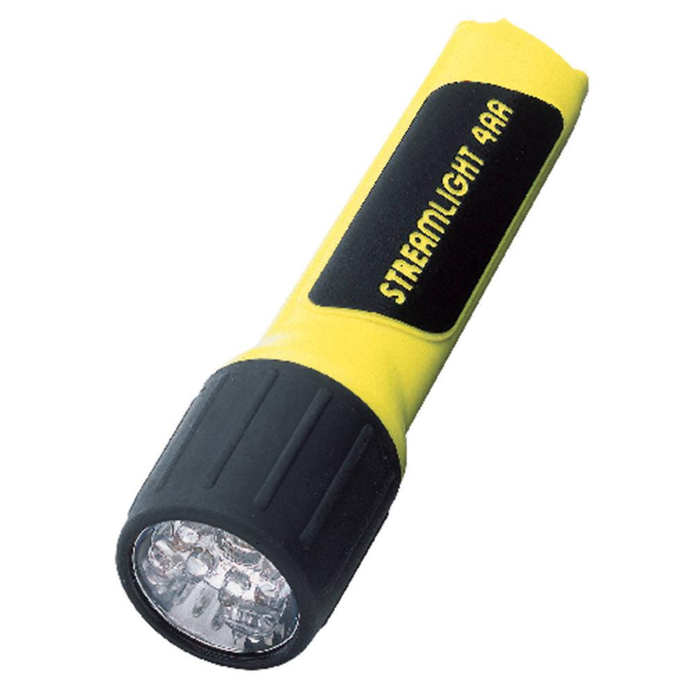 Streamlight 4AA LED w Alkaline Batteries, Yellow by Streamlight®