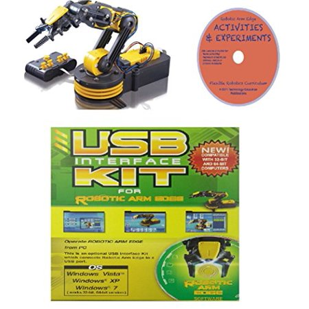 Owi Robotic Arm Edge Deluxe Kit With Usb Interface And Activities And Experiments Curriculum