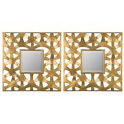 Cooper Classics Weston Wall Mirror - Set of 2 - 19.75W x 19.75H in.